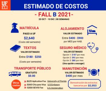FALL B ESTIMADO DE COSTOS EEF