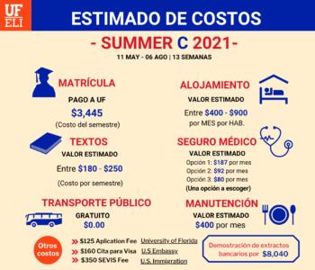 SUMMER C ESTIMADO DE COSTOS EEF